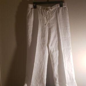 JM Collection linen pants.